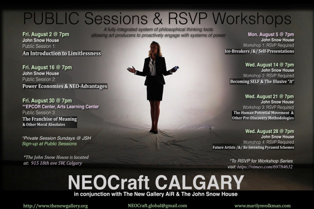 Public Sessions & RSVP Workshops
