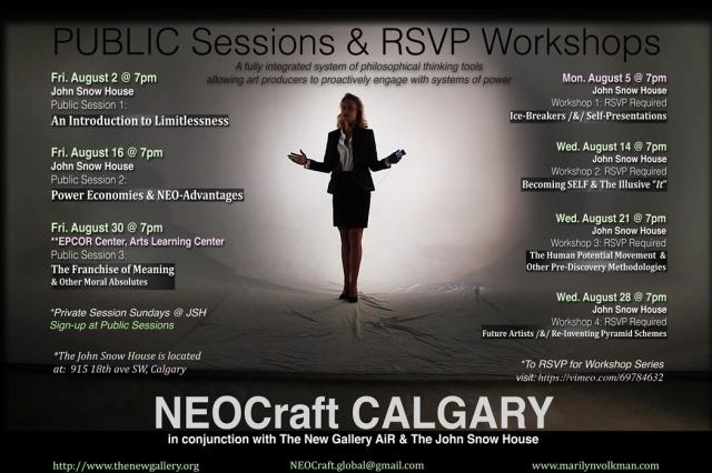 Public Sessions & RSVP Workshops